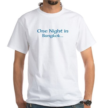 One Night in Bangkok Hangover T-Shirt, Clothing, Mug