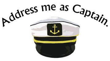 Hangover 2 Address Me As Captain T-Shirt, Clothing, Mug