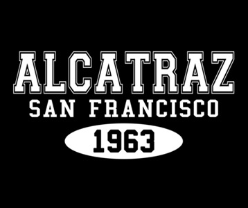 Alcatraz 1963 T-Shirt, Clothing, Mug