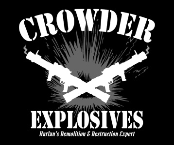 Crowder Explosives T-Shirt, Clothing, Mug