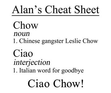 Hangover 3 Ciao Chow T-Shirt, Clothing, Mug