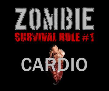 Zombie Rule 1 Cardio Wayward Tees