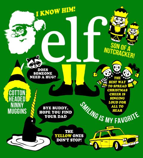 Elf Movie Quotes T-Shirt, Clothing, Mug