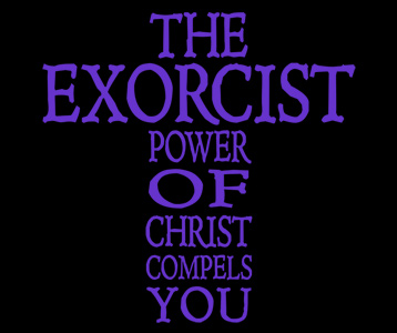 The Exorcist Cross T-Shirt, Clothing, Mug
