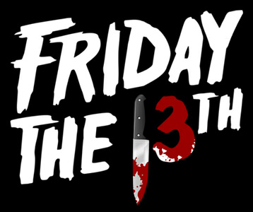 Friday the 13th Logo T-Shirt, Clothing, Mug