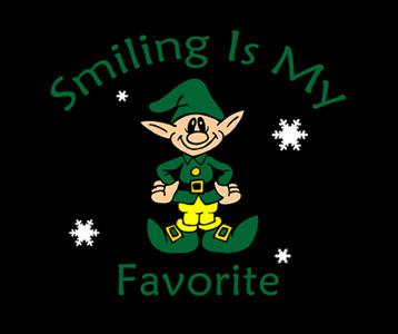 Smiling Is My Favorite Elf T-Shirt, Clothing, Mug