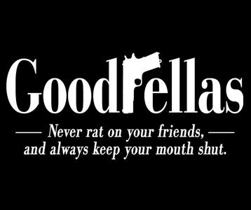Goodfellas Logo T-Shirt, Clothing, Mug