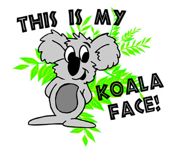 Sheldon My Koala Face T-Shirt, Clothing, Mug