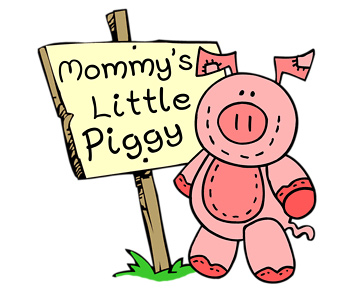 Mommy's Little Piggy T-Shirt, Clothing, Mug