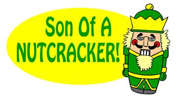 Elf Son of a Nutcracker T-Shirt, Clothing, Mug