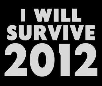 I Will Survive 2012 T-Shirt, Clothing, Mug