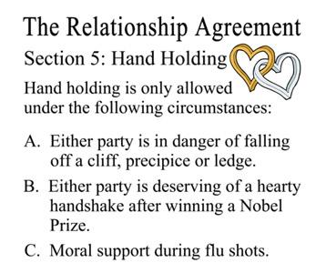 Sheldon dating agreement