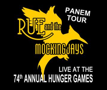 Rue and the Mockingjays T-Shirt, Clothing, Mug