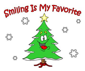 Smiling Is My Favorite Tree T-Shirt, Clothing, Mug