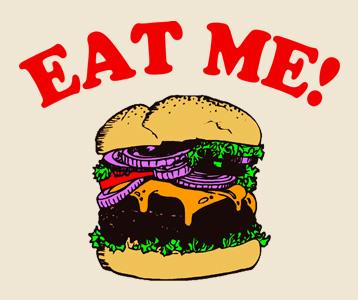 Eat Me! T-Shirt, Clothing, Mug