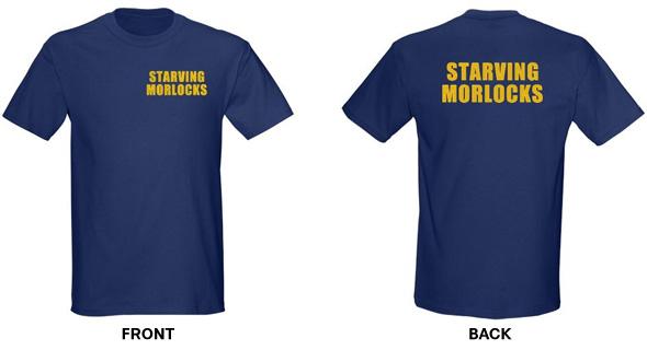 Big Bang Theory Starving Morlocks T-Shirt, Clothing, Mug