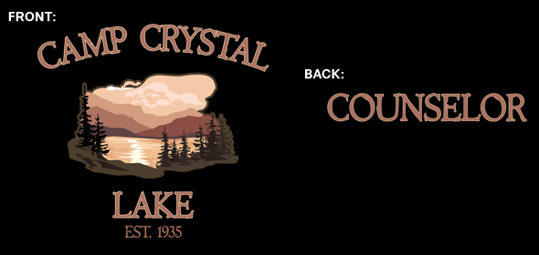 007b238e This Camp Crystal Lake Counselor t-shirt lets everyone know that you spend  your summers as a counselor at Camp Crystal Lake. The Camp is trying to  improve ...