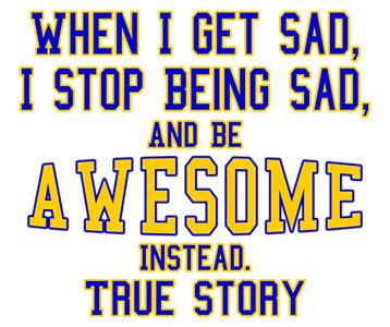 When I Get Sad T-Shirt, Clothing, Mug