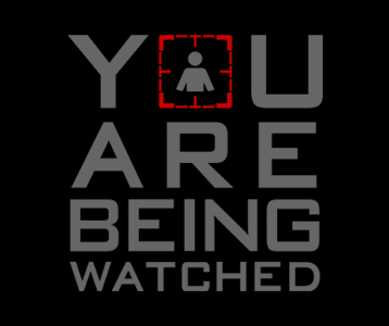 You Are Being Watched T-Shirt, Clothing, Mug